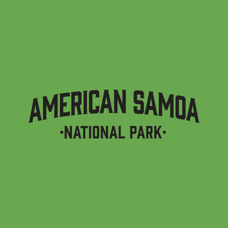 American Samoa National Park Accessories Bag by Virtual Running Club Merch