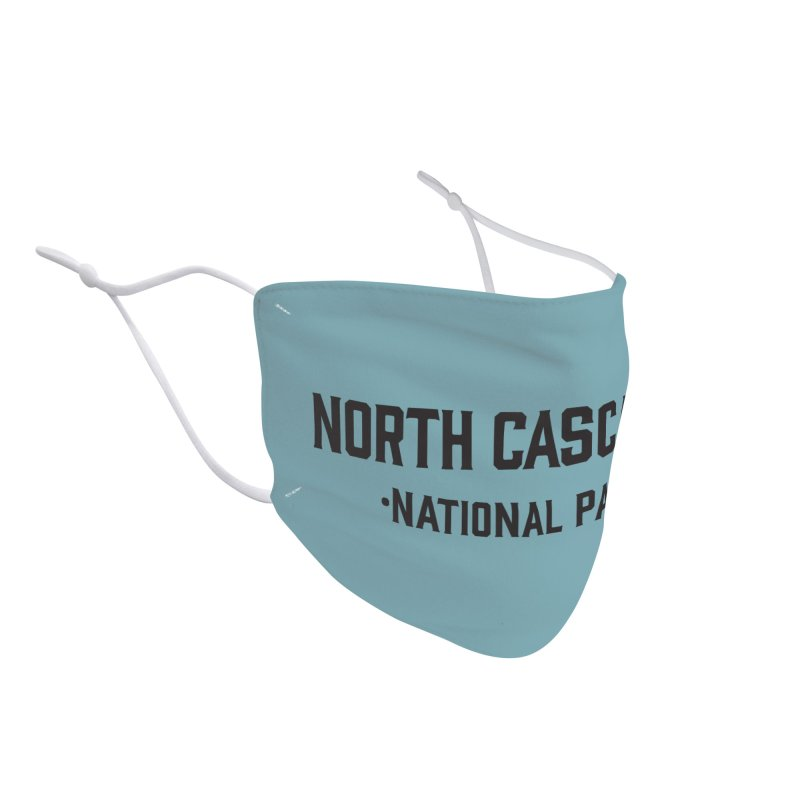 North Cascades National Park Accessories Face Mask by Virtual Running Club Merch