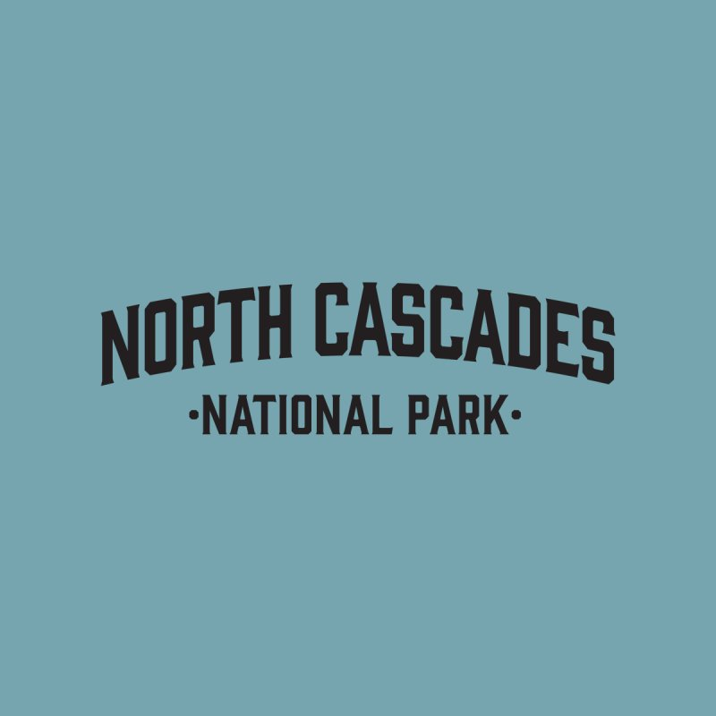 North Cascades National Park Accessories Bag by Virtual Running Club Merch