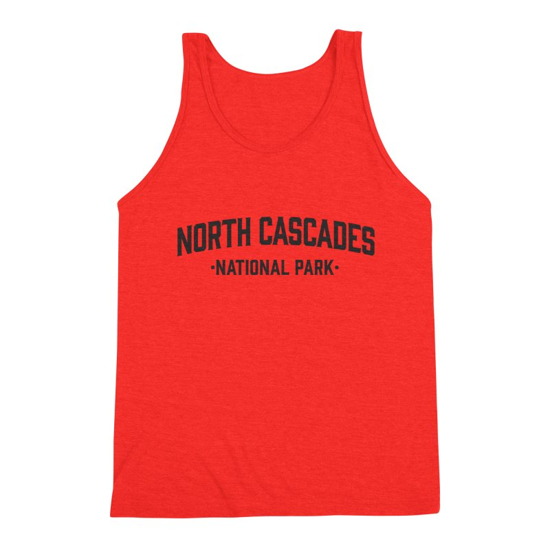 North Cascades National Park Men's Tank by Virtual Running Club Merch