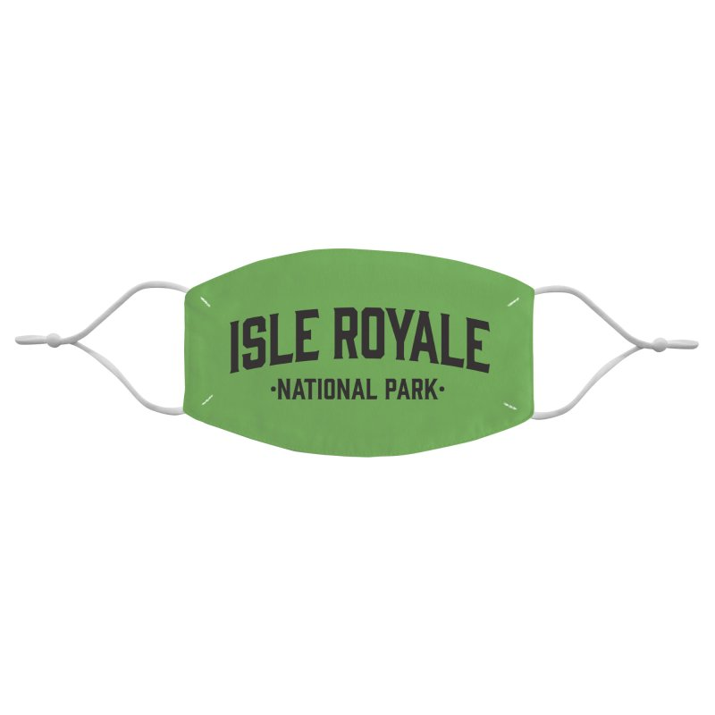 Isle Royale National Park Accessories Face Mask by Virtual Running Club Merch