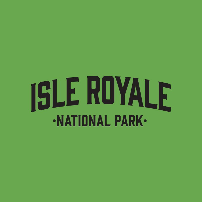 Isle Royale National Park Accessories Bag by Virtual Running Club Merch
