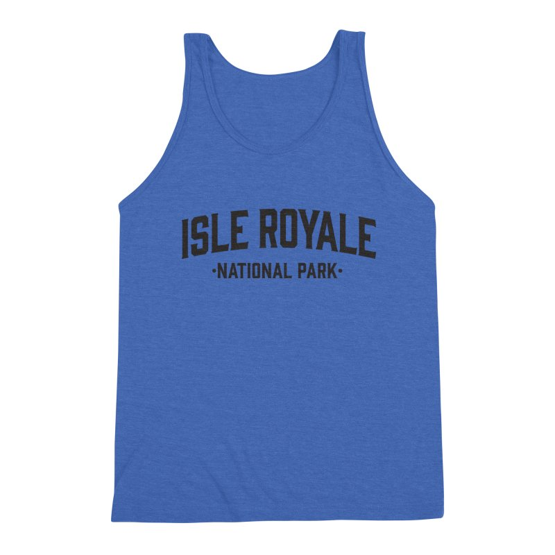 Isle Royale National Park Men's Tank by Virtual Running Club Merch