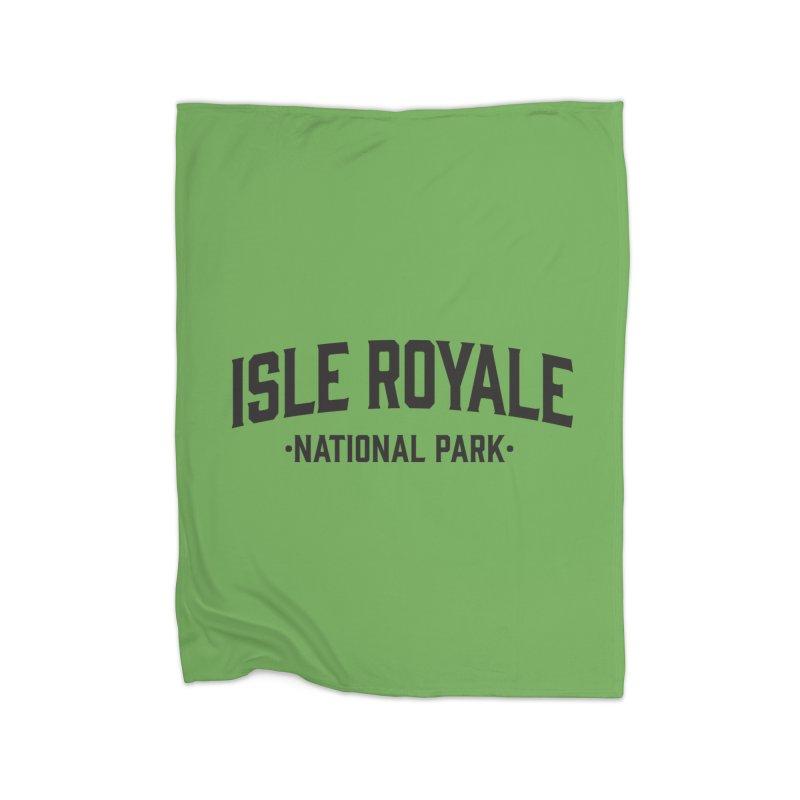Isle Royale National Park Home Blanket by Virtual Running Club Merch