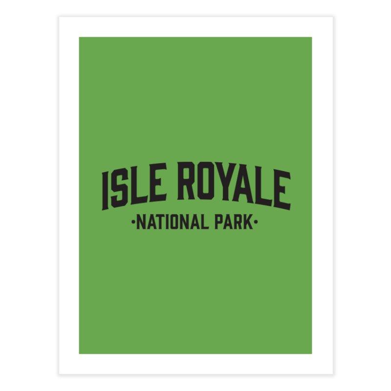 Isle Royale National Park Home Fine Art Print by Virtual Running Club Merch