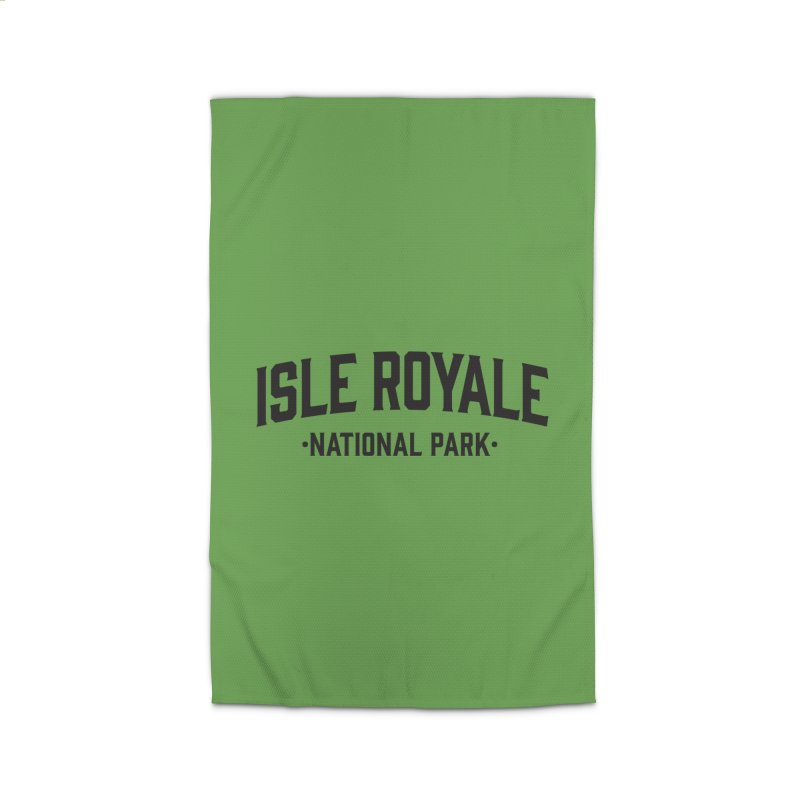 Isle Royale National Park Home Rug by Virtual Running Club Merch