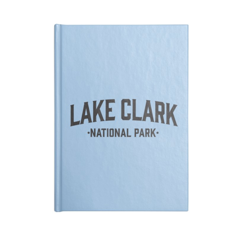 Lake Clark National Park Accessories Notebook by Virtual Running Club Merch
