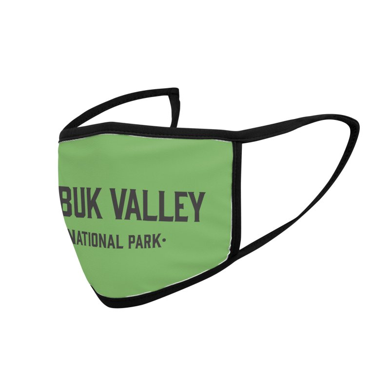 Kobuk Valley National Park Accessories Face Mask by Virtual Running Club Merch