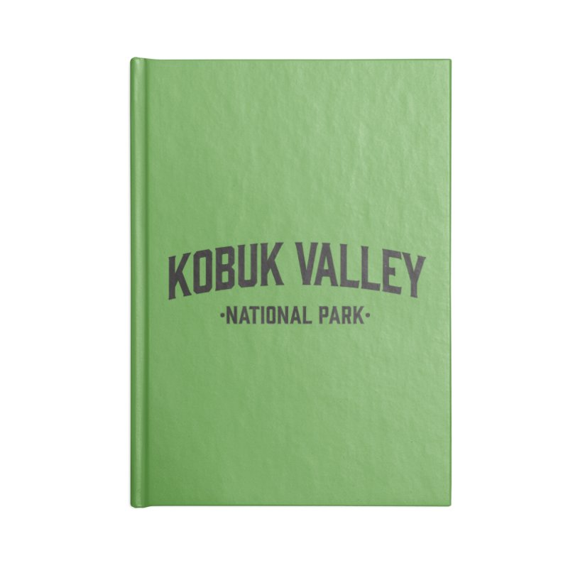 Kobuk Valley National Park Accessories Notebook by Virtual Running Club Merch