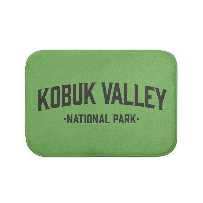 Kobuk Valley National Park Home Bath Mat by Virtual Running Club Merch