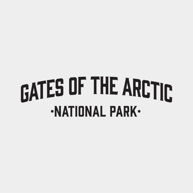 Gates of the Arctic National Park Kids T-Shirt by Virtual Running Club Merch