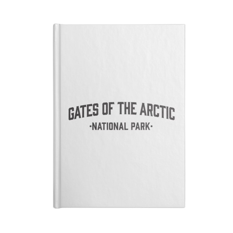 Gates of the Arctic National Park Accessories Notebook by Virtual Running Club Merch