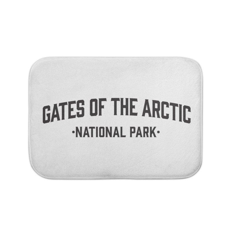 Gates of the Arctic National Park Home Bath Mat by Virtual Running Club Merch