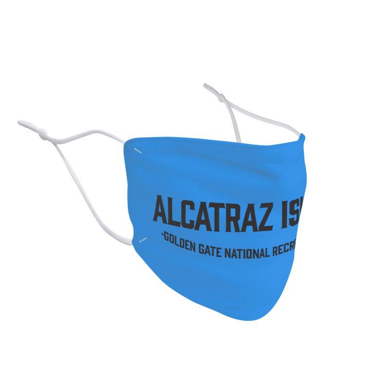 Alcatraz Island Accessories Face Mask by Virtual Running Club Merch