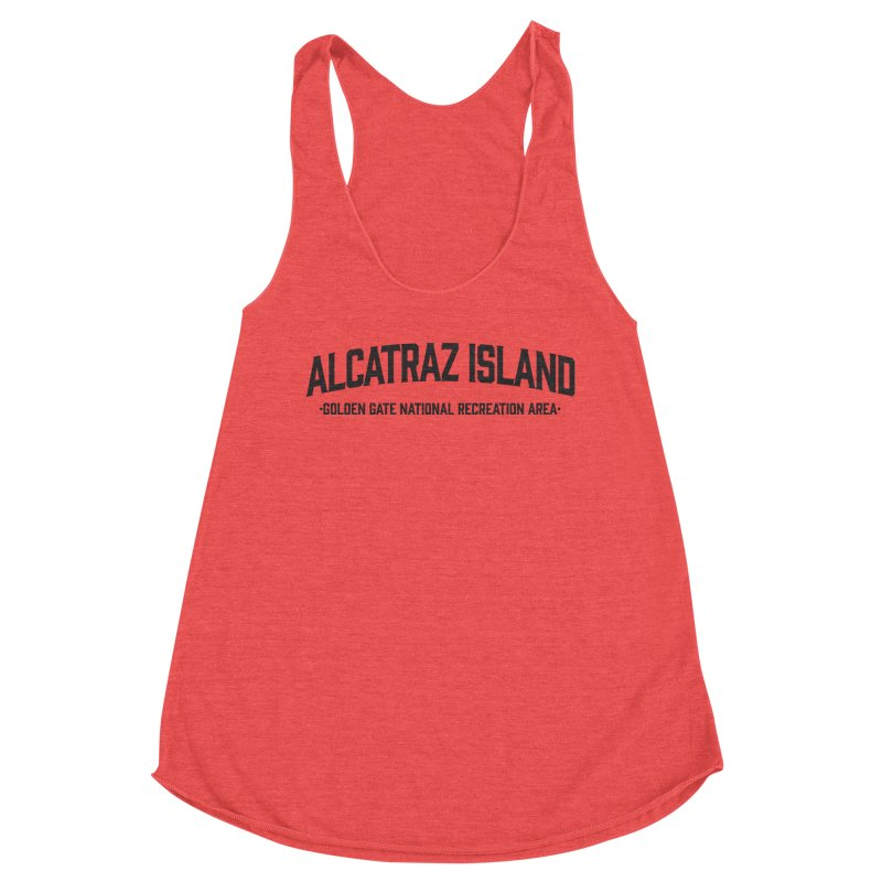 Alcatraz Island Women's Tank by Virtual Running Club Merch