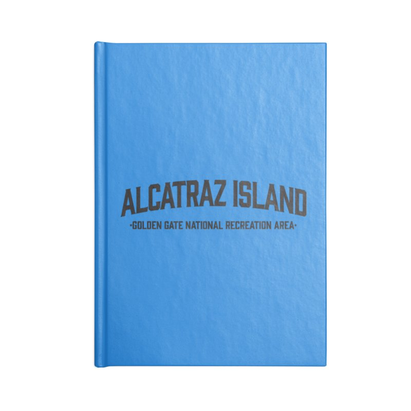 Alcatraz Island Accessories Notebook by Virtual Running Club Merch