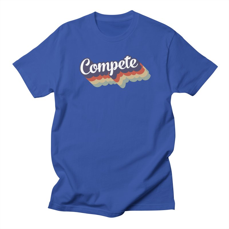 Compete Men's T-Shirt by Virtual Running Club Merch