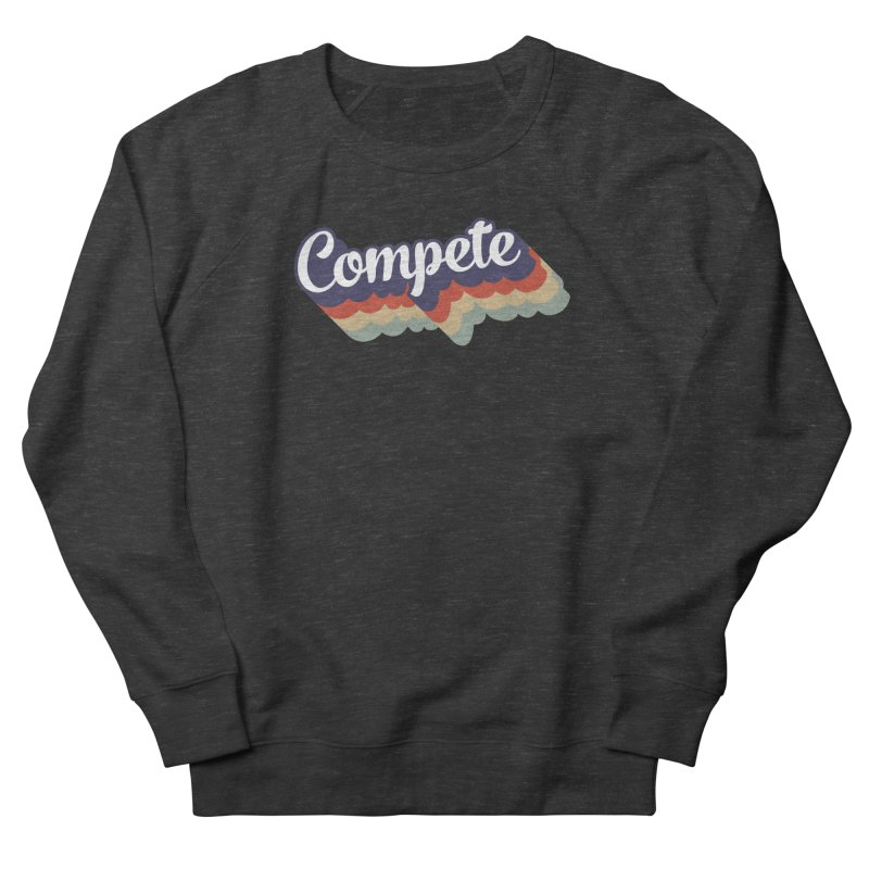 Compete Women's Sweatshirt by Virtual Running Club Merch