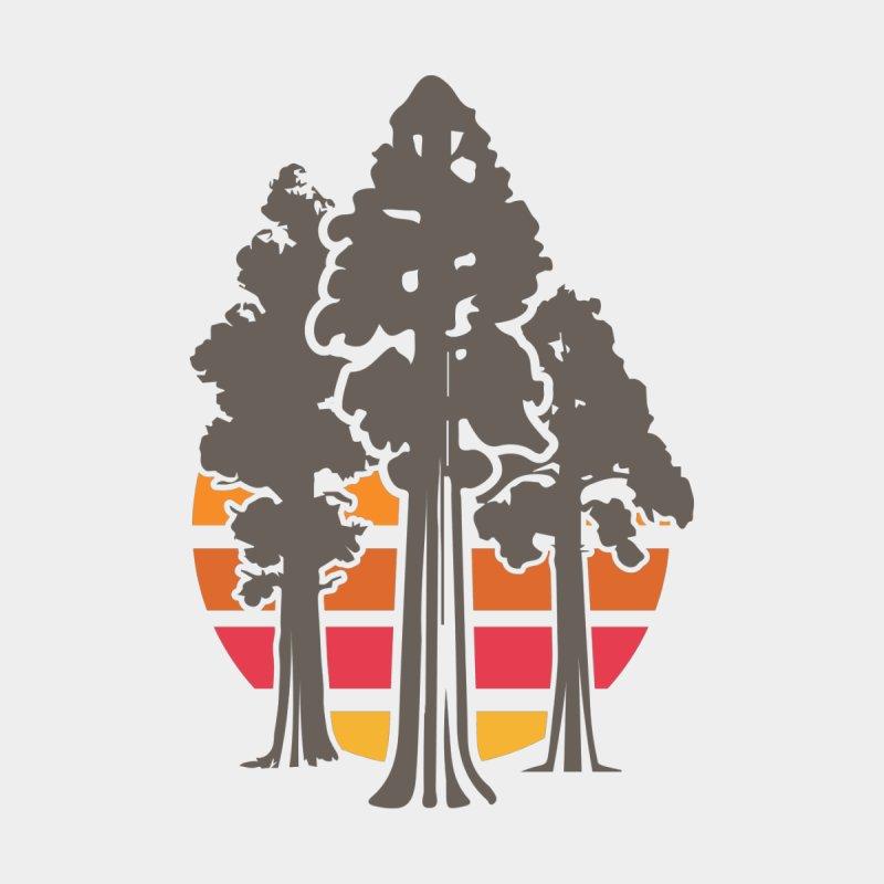 SEKI Trees Men's T-Shirt by Virtual Running Club Merch