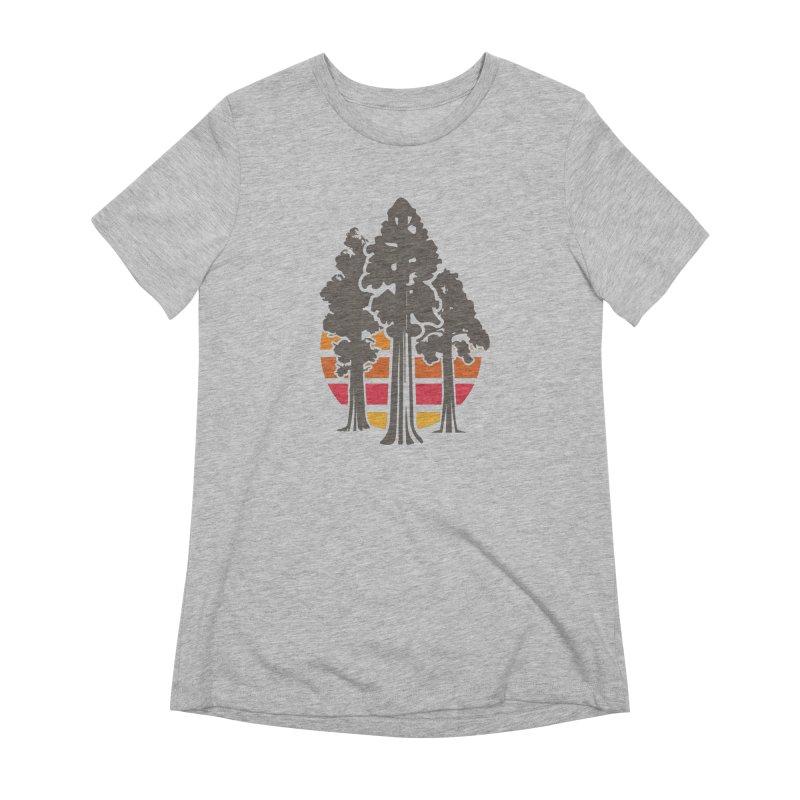 SEKI Trees Women's T-Shirt by Virtual Running Club Merch