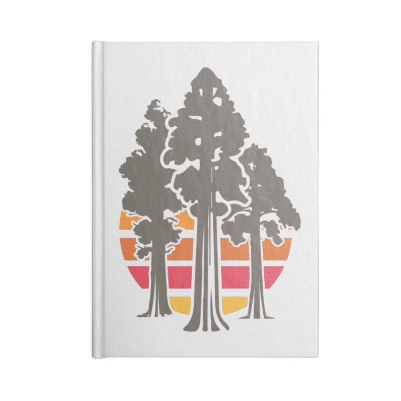 SEKI Trees Accessories Notebook by Virtual Running Club Merch