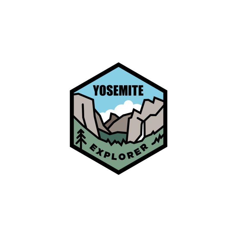 Yosemite Explorer Sweatshirts / Hoodies Women's Zip-Up Hoody by Virtual Running Club Merch