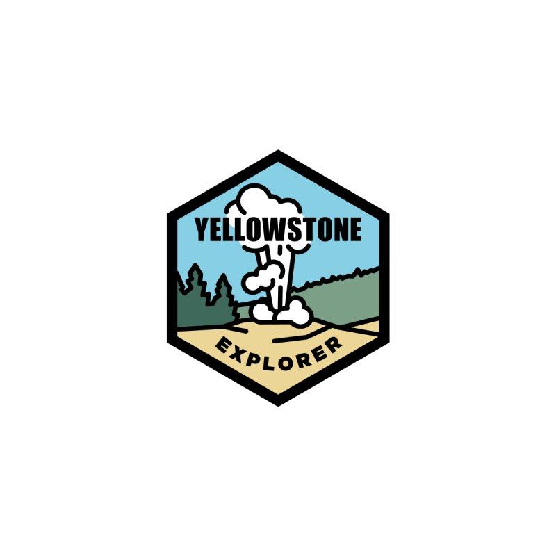 Yellowstone Explorer Club Men's T-Shirt by Virtual Running Club Merch