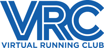 Virtual Running Club Merch Logo