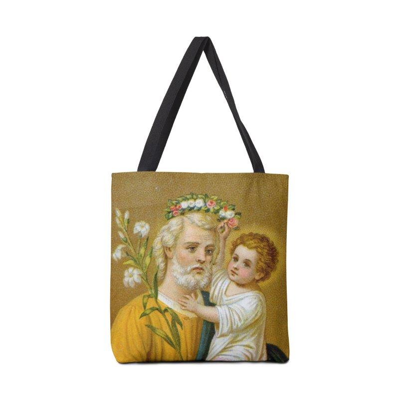 Rose Crown Accessories Bag by Virtual St. Joseph Altar's Shop