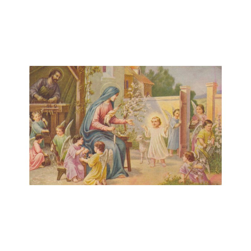 Holy Family Accessories Zip Pouch by Virtual St. Joseph Altar's Shop