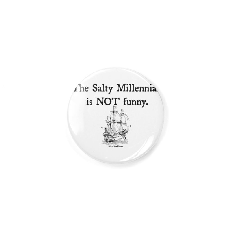 Salty Isn't Funny Accessories Button by Virtue - There's more to it