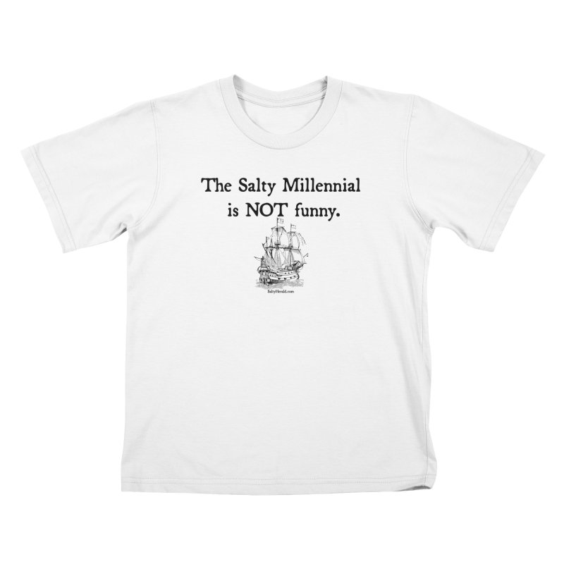 Salty Isn't Funny Kids T-Shirt by Virtue - There's more to it