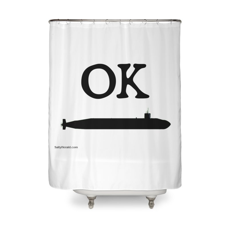OK Boomer Home Shower Curtain by Virtue - There's more to it