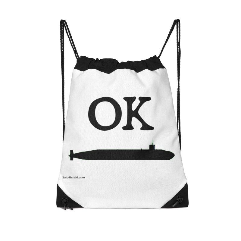 OK Boomer Accessories Drawstring Bag Bag by Virtue - There's more to it