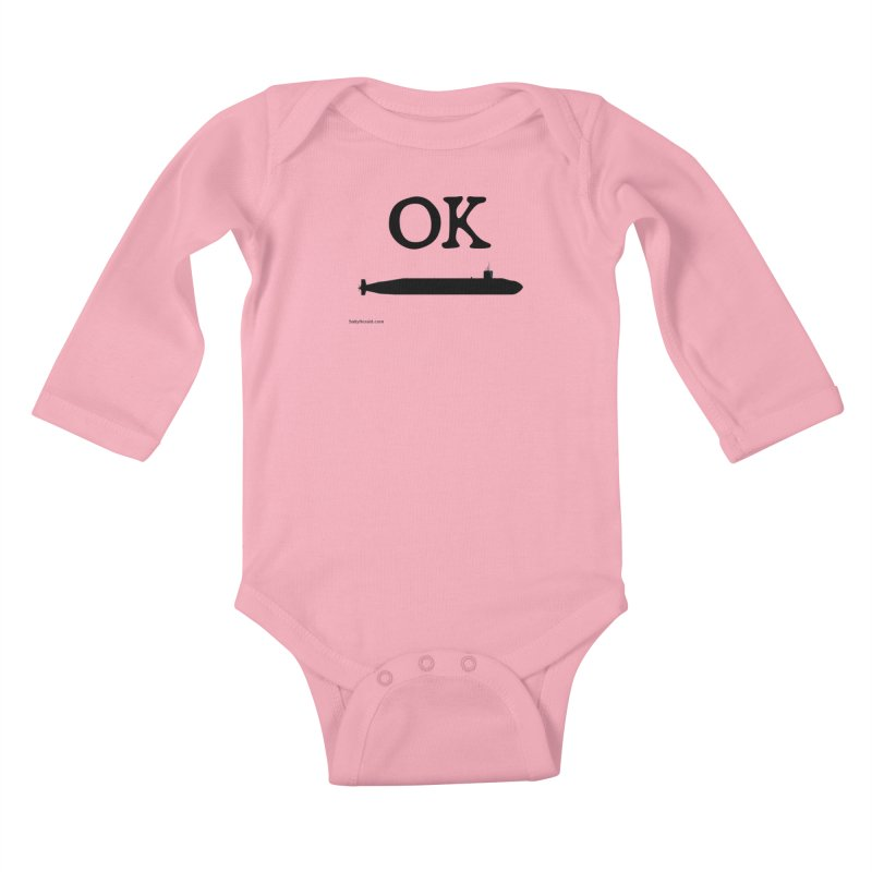 OK Boomer Kids Baby Longsleeve Bodysuit by Virtue - There's more to it