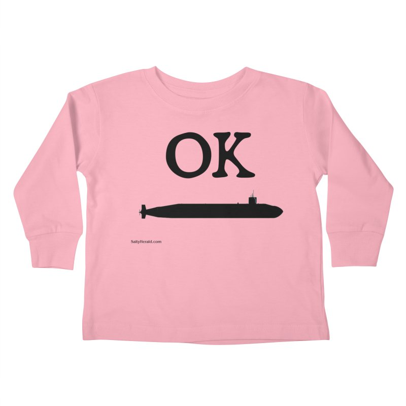 OK Boomer Kids Toddler Longsleeve T-Shirt by Virtue - There's more to it