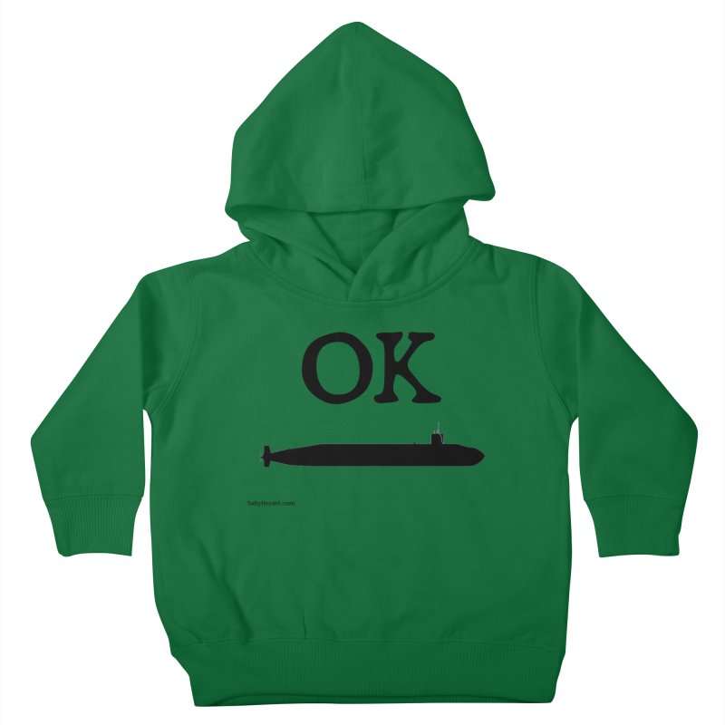 OK Boomer Kids Toddler Pullover Hoody by Virtue - There's more to it