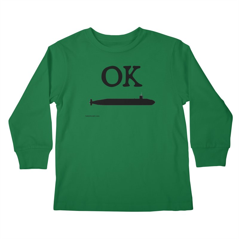 OK Boomer Kids Longsleeve T-Shirt by Virtue - There's more to it