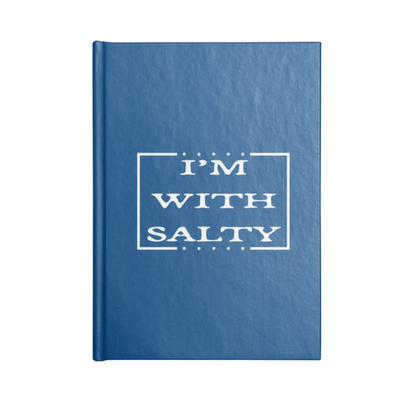 I'm With Salty Accessories Lined Journal Notebook by Virtue - There's more to it