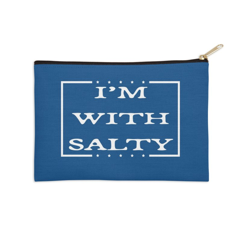 I'm With Salty Accessories Zip Pouch by Virtue - There's more to it