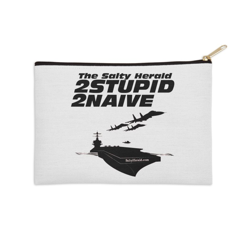 2Stupid 2Naive Accessories Zip Pouch by Virtue - There's more to it