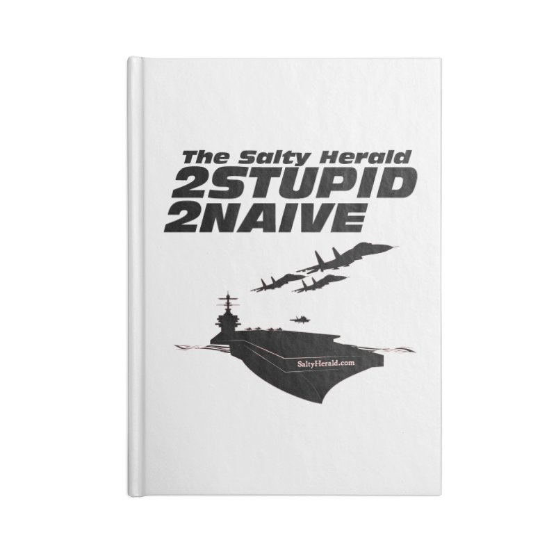 2Stupid 2Naive Accessories Notebook by Virtue - There's more to it