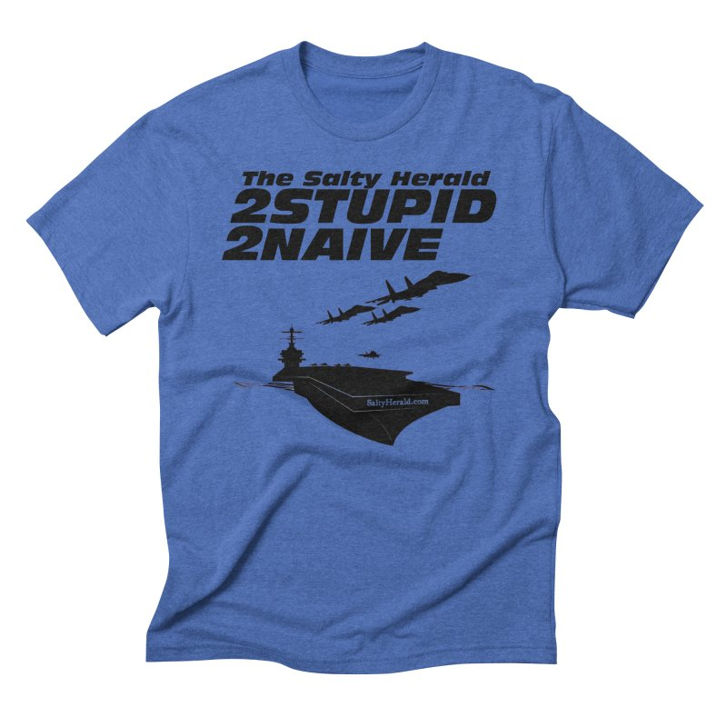 2Stupid 2Naive Men's T-Shirt by Virtue - There's more to it