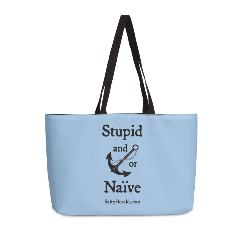 Stupid and/or Naive Accessories Bag by Virtue - There's more to it