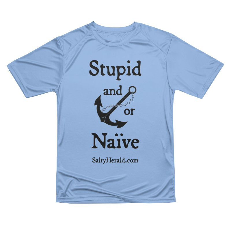 Stupid and/or Naive Men's T-Shirt by Virtue - There's more to it