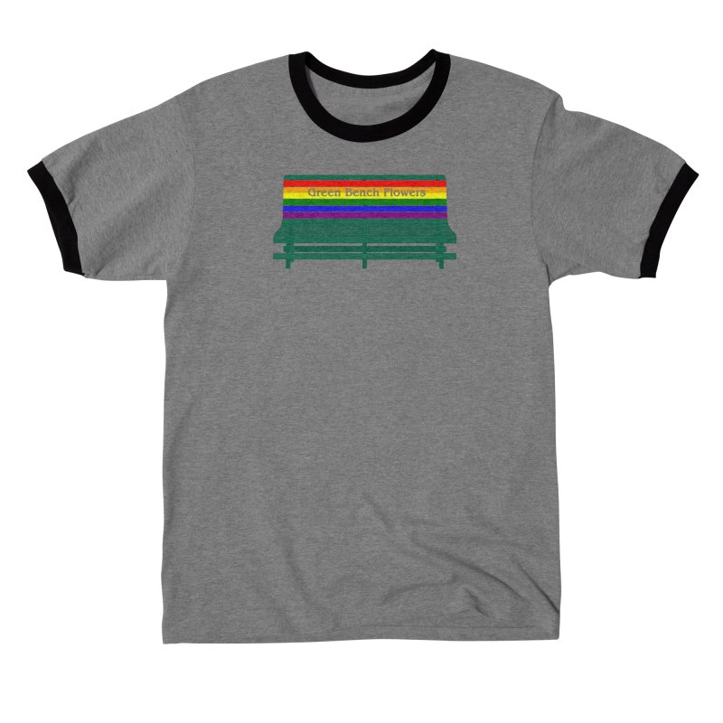 St Pete Green Bench - Pride Bench Men's T-Shirt by Virtue - There's more to it