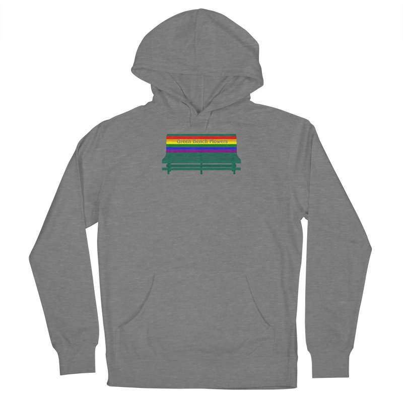 St Pete Green Bench - Pride Bench Women's Pullover Hoody by Virtue - There's more to it
