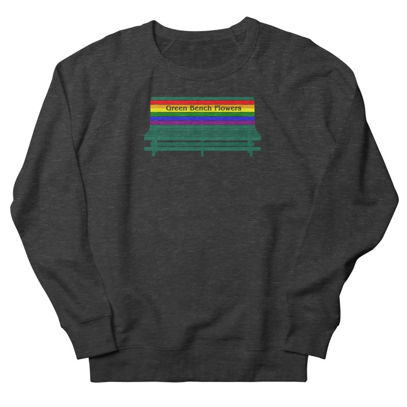 St Pete Green Bench - Pride Bench Women's Sweatshirt by Virtue - There's more to it