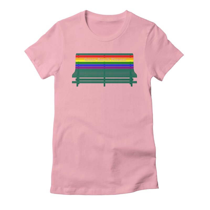 St Pete Green Bench - Pride Bench Women's T-Shirt by Virtue - There's more to it