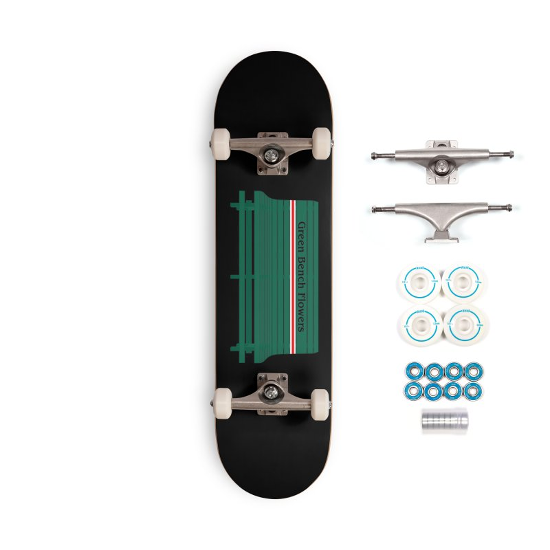 St Pete Green Bench - Nurses Accessories Skateboard by Virtue - There's more to it